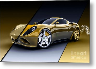Ferrari Collection Metal Print by Marvin Blaine
