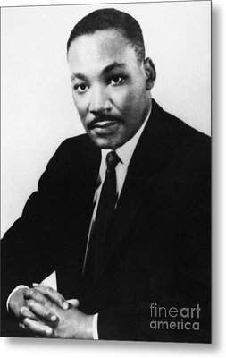 Martin Luther King, Jr Metal Print by Granger