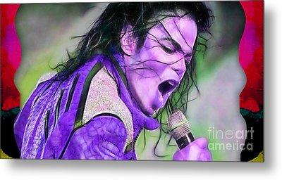 Michael Jackson Collection Metal Print
