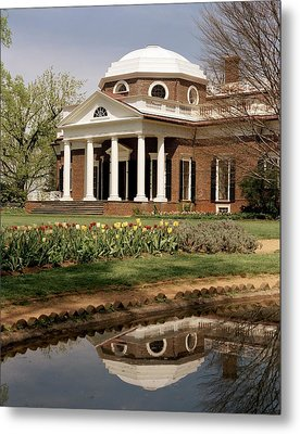 Monticello, The Home Built By Thomas Metal Print by Everett