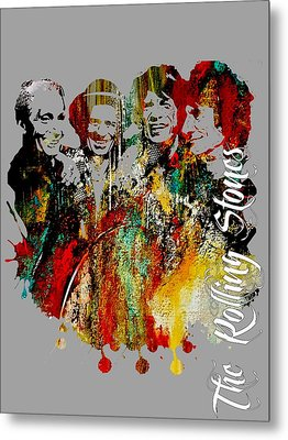 The Rolling Stones Collection Metal Print