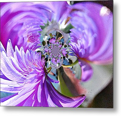 1006 Abstract 1 Metal Print by Marty Koch