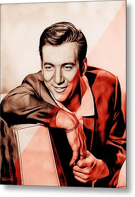 Bobby Darin Collection Metal Print by Marvin Blaine