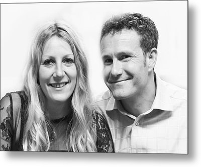 Chris And Jane Metal Print by Steven Poulton