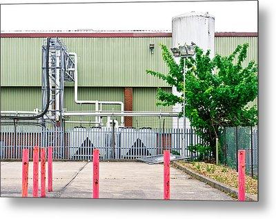 Factory Metal Print by Tom Gowanlock