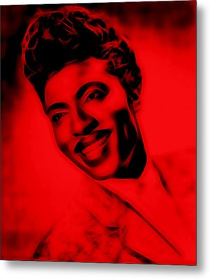 Little Richard Collection Metal Print by Marvin Blaine