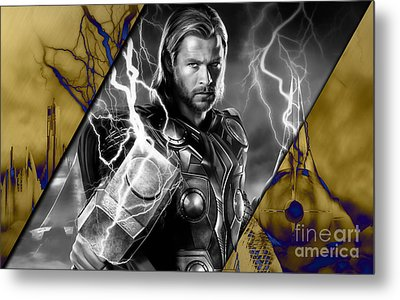 Thor Collection Metal Print