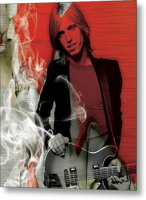 Tom Petty Collection Metal Print by Marvin Blaine