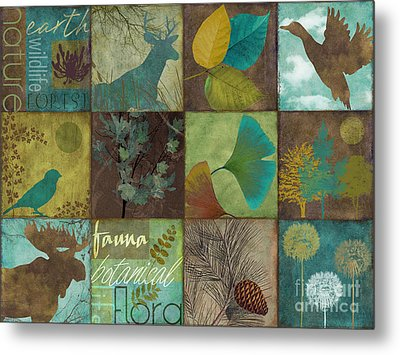 12 Days In The Woods Metal Print by Mindy Sommers