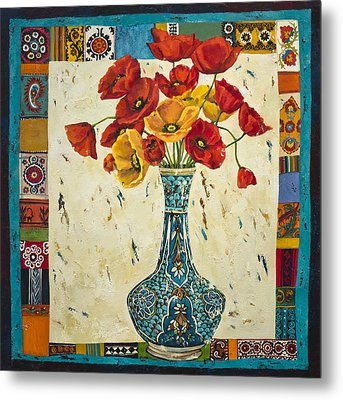 Untitled Metal Print by Mahtab Alizadeh