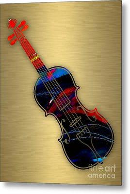 Violin Collection Metal Print