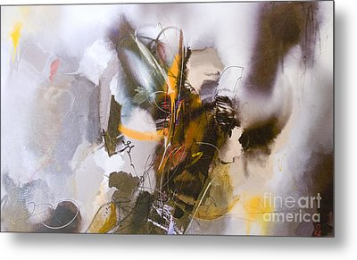 Metal Print featuring the painting #122514a Or 'face In The Clouds' by Robert Anderson