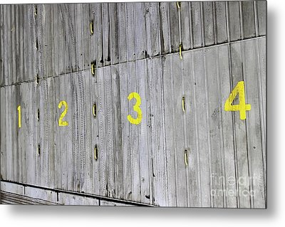 Metal Print featuring the photograph 1234 by Stephen Mitchell