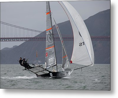 18 Skiff International Metal Print