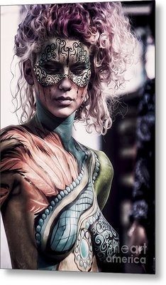 Bodypainting Metal Print by Traven Milovich