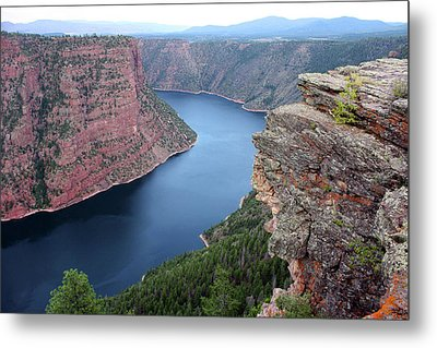 Flaming Gorge National Park Metal Print by Ellen Tully