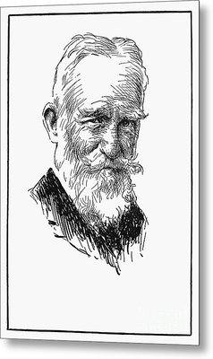 George Bernard Shaw Metal Print by Granger