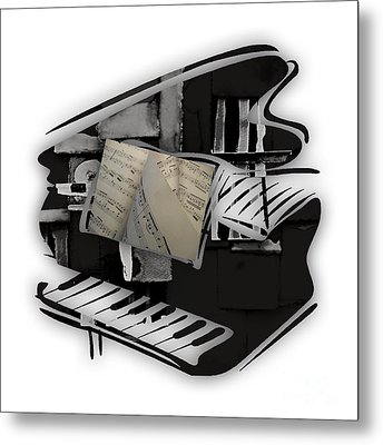 Piano Collection Metal Print by Marvin Blaine