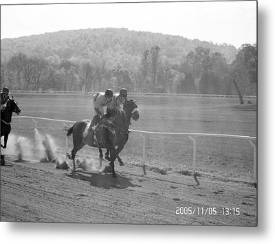The Montpelier Hunt Races Metal Print