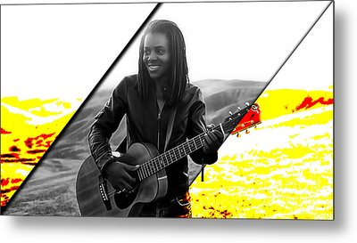 Tracy Chapman Collection Metal Print by Marvin Blaine