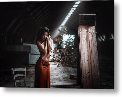 Metal Print featuring the photograph Giulia by Traven Milovich