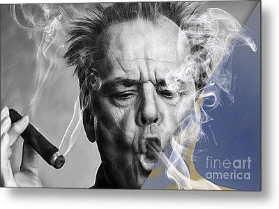 Jack Nicholson Collection Metal Print