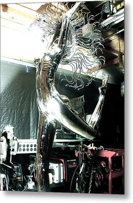Divina Natura Figure 1 Metal Print by Greg Coffelt