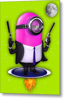 Minions Collection Metal Print by Marvin Blaine