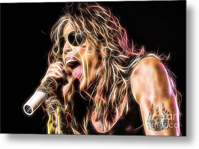 Steven Tyler Collection Metal Print
