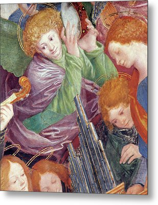 The Concert Of Angels Metal Print by Gaudenzio Ferrari