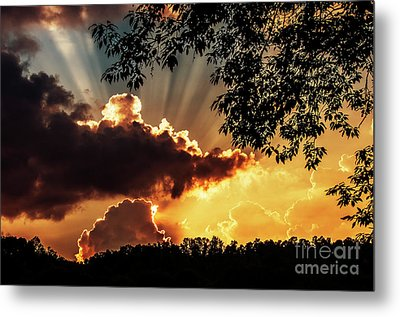 Metal Print featuring the photograph Appalachian Sunset by Thomas R Fletcher