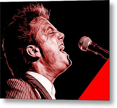 Billy Joel Collection Metal Print by Marvin Blaine
