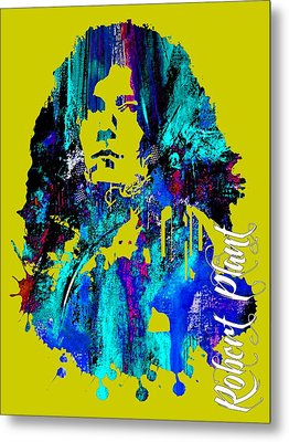 Robert Plant Collection Metal Print