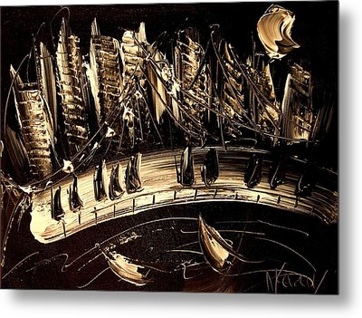 Jazz Metal Print by Mark Kazav