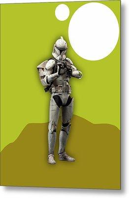 Star Wars Stormtrooper Collection Metal Print