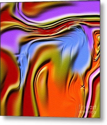 1765 Abstract Thought Metal Print