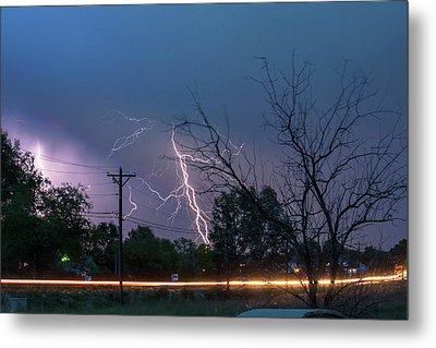 17th Street Thunder And Lightning Metal Print by James BO Insogna