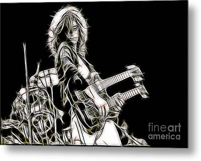 Jimmy Page Collection Metal Print