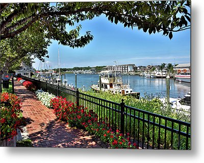 Metal Print featuring the photograph 1812 Memorial Park - Lewes Delaware by Brendan Reals