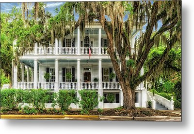Metal Print featuring the photograph 1820 Historic Bed And Breakfast South Carolina  -  013-6178 by Frank J Benz