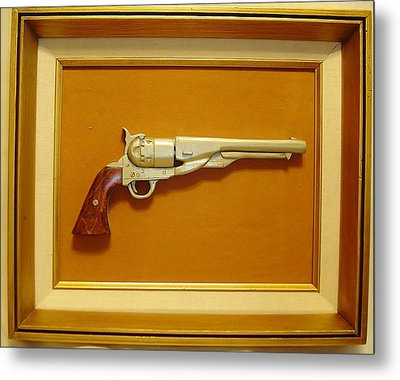 1851 Colt Metal Print by Russell Ellingsworth
