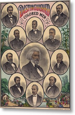 1883 Print Commemorating Metal Print