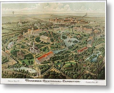 1897 Nashville Tennessee Metal Print