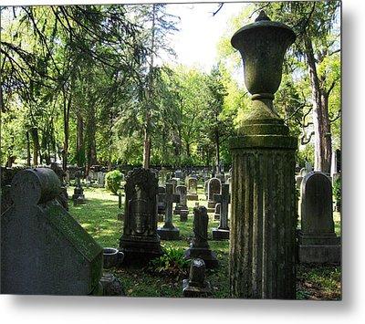 18th Century Cemetery In Virginia Metal Print by Don Struke