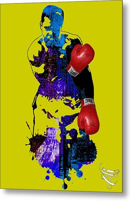 Muhammad Ali Collection Metal Print by Marvin Blaine