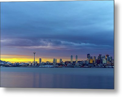 Seattle Metal Print