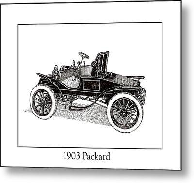 1903 Packard Metal Print