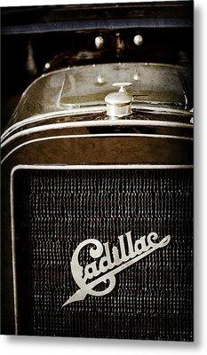 1907 Cadillac Model M Touring Grille Emblem -1106ac Metal Print by Jill Reger