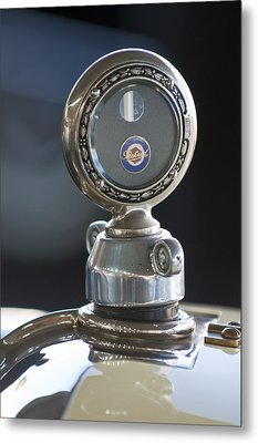 1916 Packard Hood Ornament  Metal Print by Jill Reger