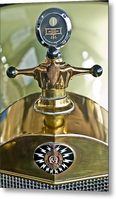 1917 Owen Magnetic M-25 Hood Ornament 2 Metal Print